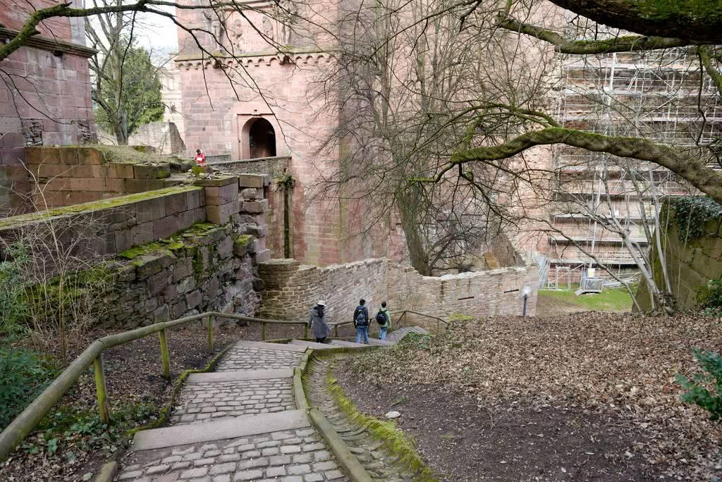 城堡外圍步道